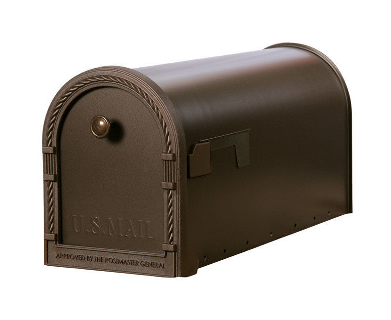 MAILBOX DECORATIVE L VENETIAN BRONZE