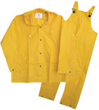(Open Box)3PF2000YX XL 2PC YELLOW RAIN SUIT