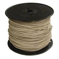 (Open Box)#12 WHITE STRAND THERMOPLASTIC HIGH HEAT RESISTANT NYLON COATED WIRE
