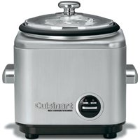(Open Box)Cuisinart® 4 Cup Rice Cooker with Automatic Keep Warm Function, Stainless Steel