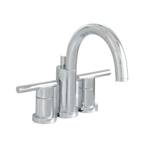 (Open Box)Essen Lead-Free Mini-Widespread Lavatory Faucet with Lever Handles And Brass Pop-Up, PVD Brushed Nickel