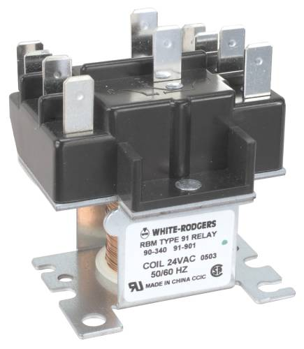 (Open Box)RBM TYPE 91 2 POLE SWITCHING RELAY