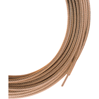 (Open Box)CLOTHESLINE PVC CTD 100FT GLD