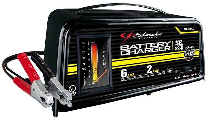 Schumacher Dual-Rate 2/6 Amp maunal Battery Charger