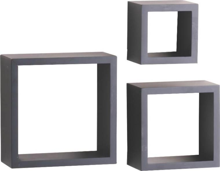 (Open Box)SHELF DECOR SHADOW BOX BLACK