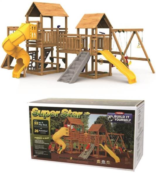 (Open Box)BUILDING KIT SUPERSTAR PLAY TOWER