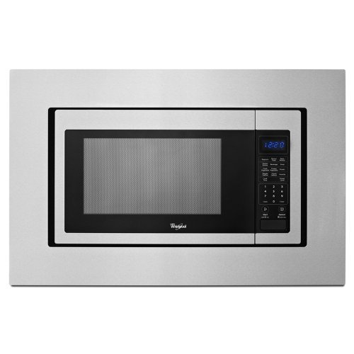 (Open Box)WHIRLPOOL� 1.6 CU. FT. COUNTERTOP MICROWAVE TRIM KIT, STAINLESS STEEL, 30 IN