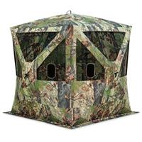 (Open Box)Barronett Blinds Big Cat 350 Backwoods Lightweight Pop Up Ground Hunting Blind