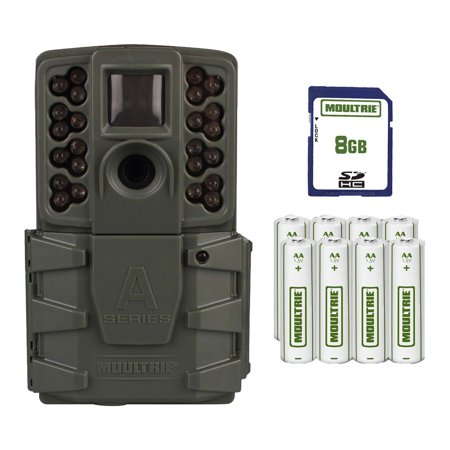 (Open Box)Moultrie A 25i Game Trail Hunting Camera w/ SD Card + Batteries | MCG-13297