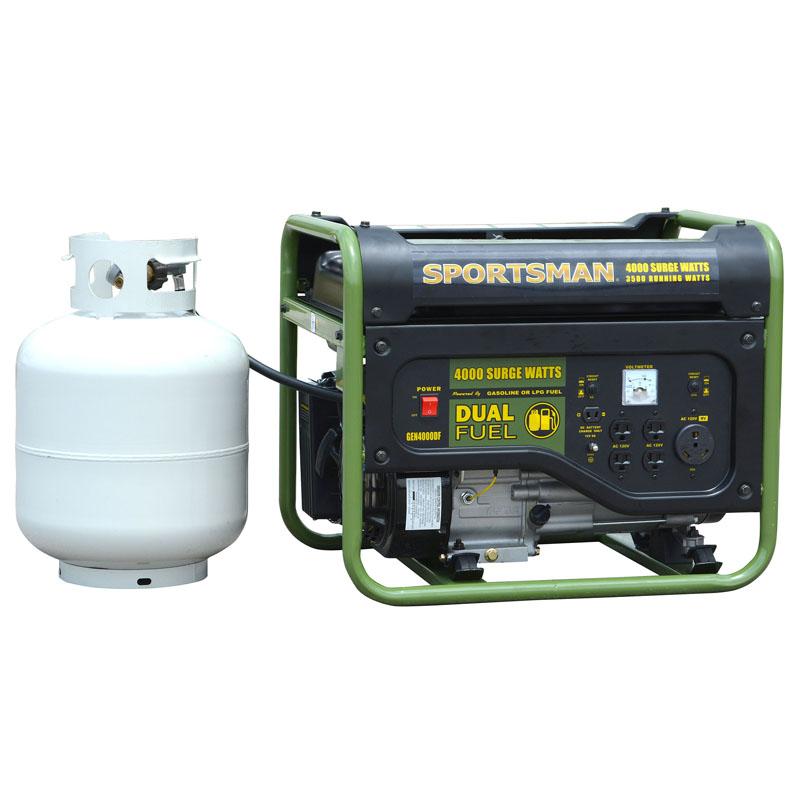 (Open Box) Sportsman 4000 Watt Dual Fuel Generator - CARB Approved