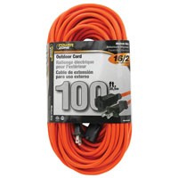 (Open Box) CORD EXT OTD ORG 16/2 100FT