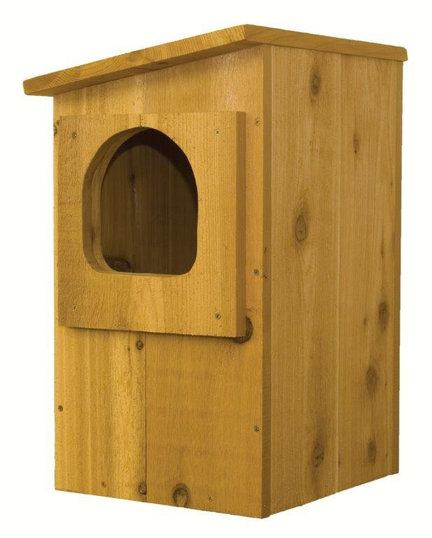 (Open Box) Barred Owl House
