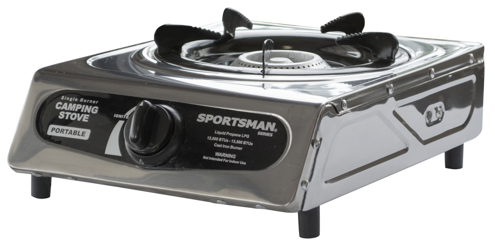 (Open Box) Sportsman Series Single Burner Camping Stove