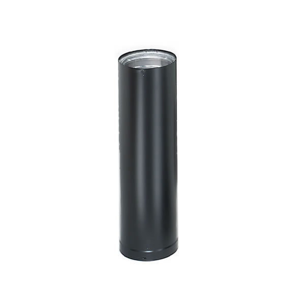 "(Open Box) 8"" X 48"" Dura-Vent DVL Double-Wall Black Pipe"
