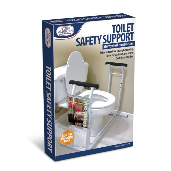 (Open Box) Jobar Deluxe Toilet Safety Support
