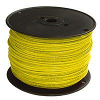 Southwire 12YEL-SOLX500 Solid Single Building Wire, 12 AWG, 500 ft, 15 mil THHN