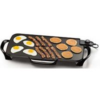 (Open Box) PRESTO 07061 ELECTRIC GRIDDLE 22 INCH WITH REMOVABLE HANDLES