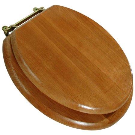 0501700 Oak Round Toilet Seat