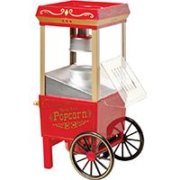 Vintage Collection OFP-501 Old Fashioned Popcorn Machine, 1040 W, 120 V, 3.5 oz, Red/Orange