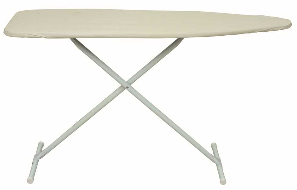 (Open Box) EASYBOARD IRONING BOARD WITH PAD AND COVER KHAKI
