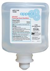 APPEAL FOAMING ALCOHOL HAND SANITIZER, 1000 ML.