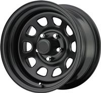 "(Open Box) Trail Master 15X8 6x5.5 4.5""BS Gloss Black TM5-5866"