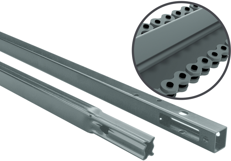 Chamberlain 7708CB Chain Drive Rail Extension Kit, For Use With 8 ft High Garage Doors