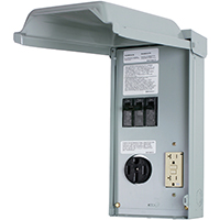 POWER PANEL RV 70A 50/20A GFCI