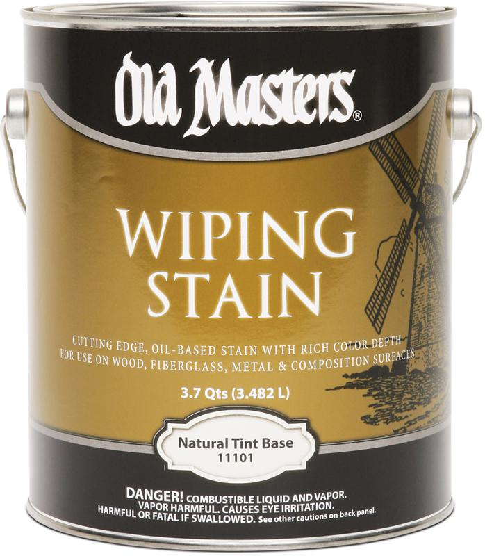 11101 1 Gallon Natural VOC Wiping Stain