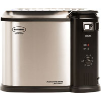 Butterball 23011114 Electric Fryer, Upto 20 lb, Stainless Steel