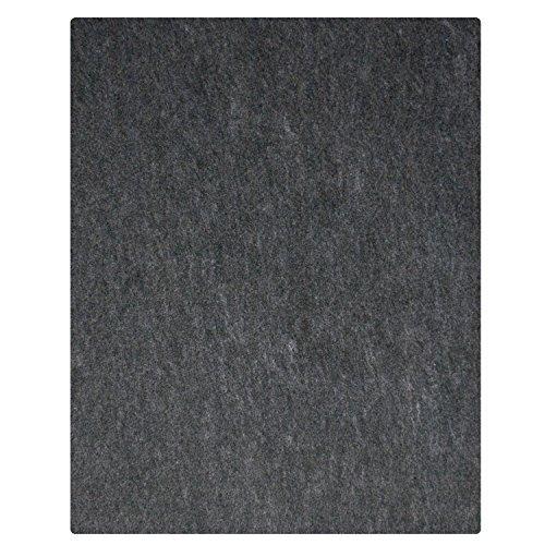 """17 Ft Garage Floor Mat 17' x 7'4"""", Charcoal"""