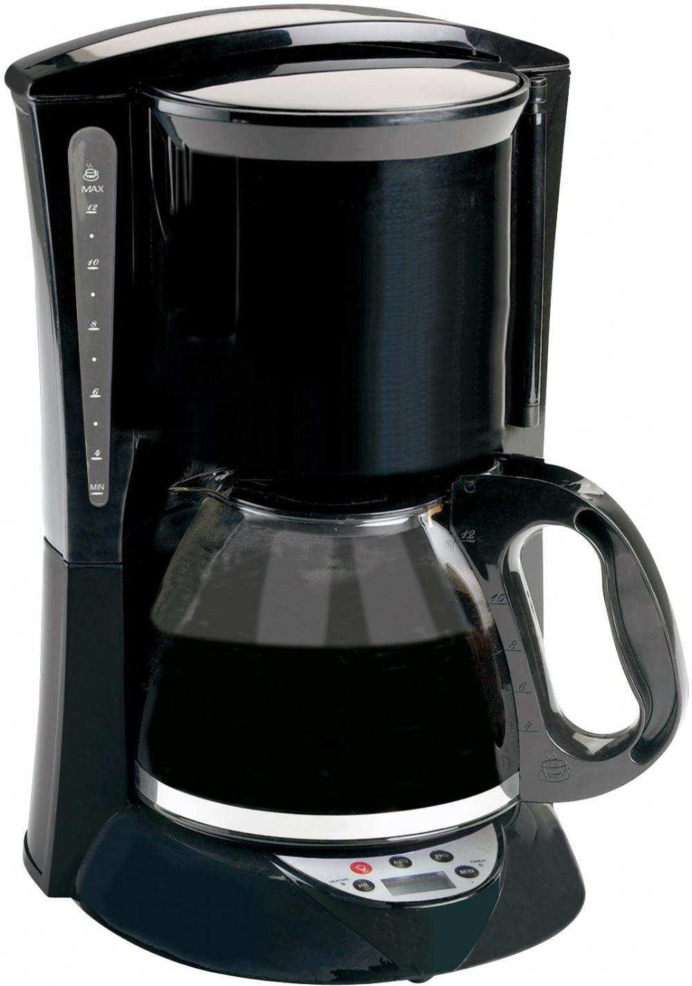 Brentwood Appliances TS-218B 12-Cup Coffee Maker (Black; Digital)