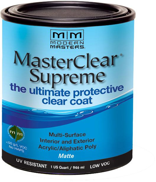 32 Oz. MasterClear Supreme Protective Clear Coat, Matte