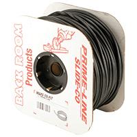 Prime Line P7552 Screen Retainer Spline, 0.12 in Dia X 500 ft L, Black