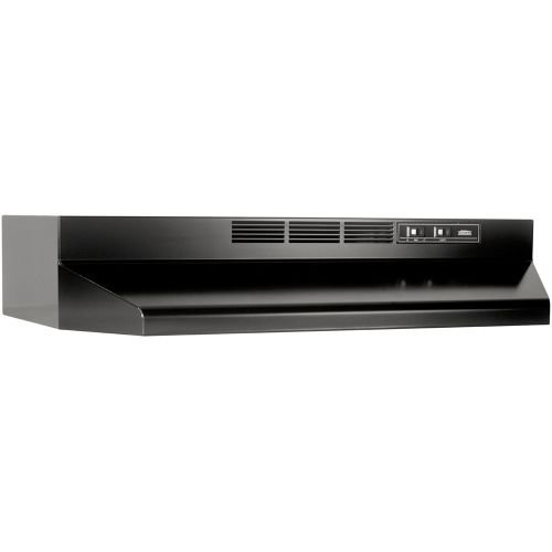 01413023 Broan-Nutone Ductless 30N Black Economy