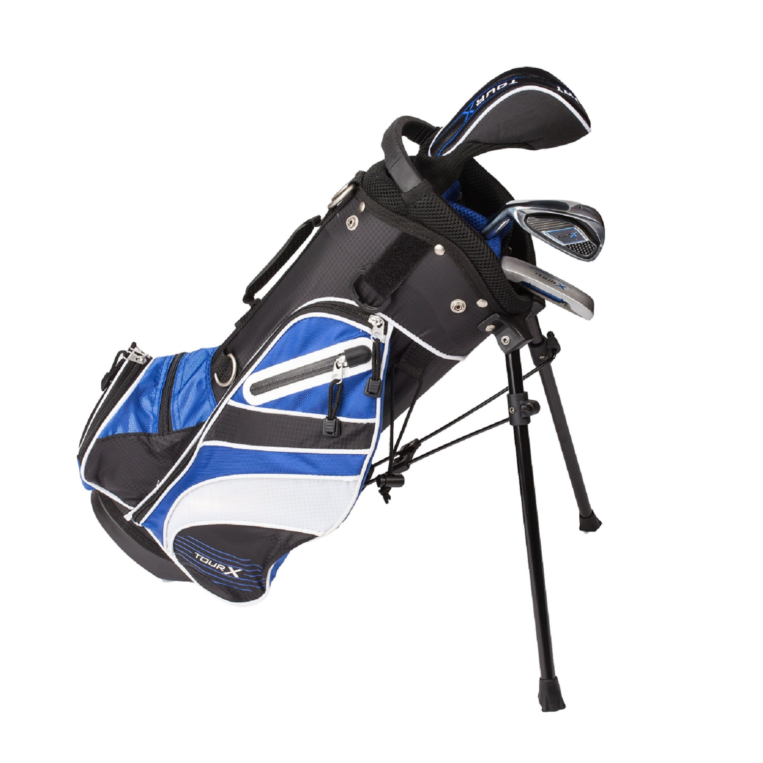 Tour X Size 0 3pc Jr Golf Set w/Stand Bag LH