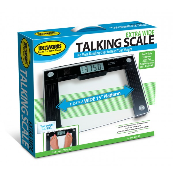 NORTH AMERICAN HEALTH AND WELLNESS JB5824 EXTRA WIDE TALKING