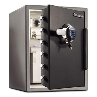 Fire-Safe w/Digital Keypad Access, 2 ft3, 18.66 x 19.38 x 23.88, Black