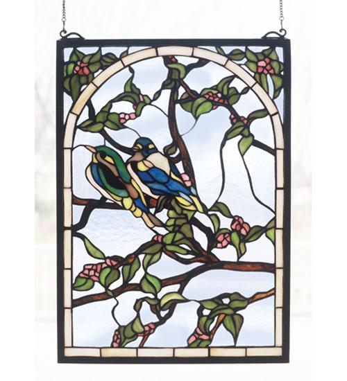 (Open Box)14 Inch W X 20 Inch H Lovebirds Window