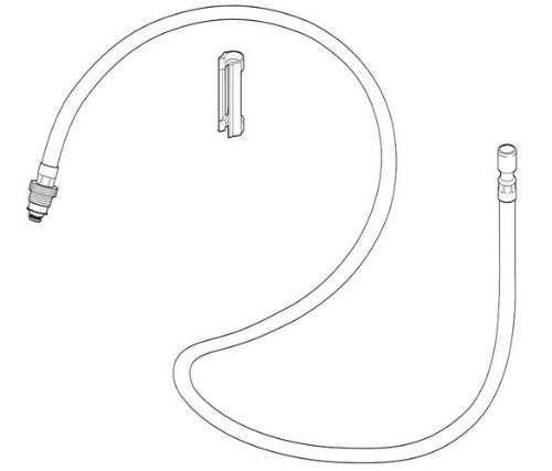 Clearance Center D-hose Assembly and Clip Repair Part - Delta Faucet Lead Law Compliant at Sears.com