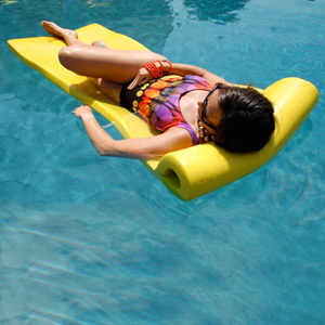 Sunsation™ Pool Float, Yellow