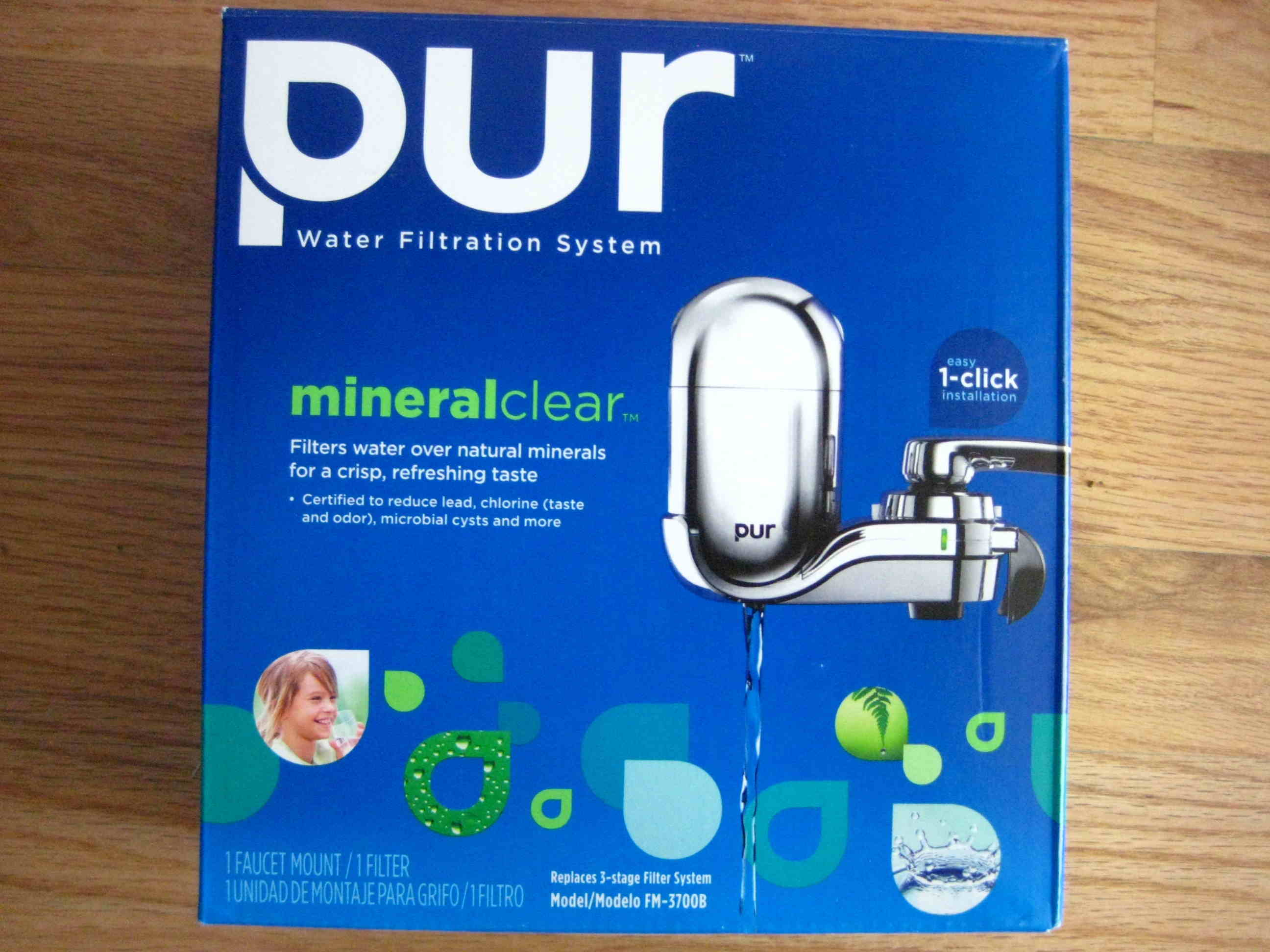 PUR Faucet Filter