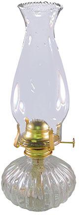 L397CL 13 IN. CL ECLIPSE OIL LAMP