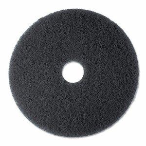 "High Productivity Floor Pad 7300, 20"" Diameter, Black, 5/Carton"