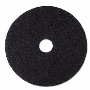 "Low-Speed Stripper Floor Pad 7200, 20"" Diameter, Black, 5/Carton"