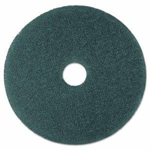 """Cleaner Floor Pad 5300, 19"""" Diameter, Blue, 5/Carton"""
