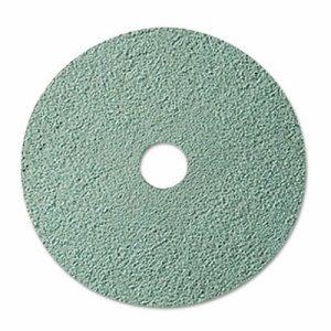 "Burnish Floor Pad 3100, 20"" Diameter, Aqua, 5/Carton"