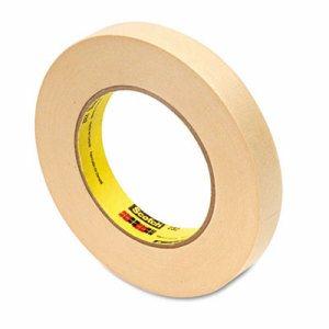 "232 High-Performance Masking Tape, 18mm x 55m, 3"" Core, Tan"
