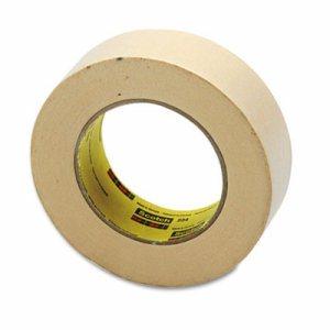 "234 General Purpose Masking Tape, 36mm x 55m, 3"" Core, Tan"