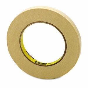 "General Purpose Masking Tape 234, 12mm x 55m, 3"" Core, Tan"